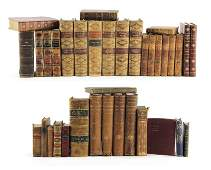 Collection of Decorative Antique Books