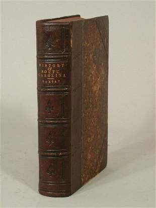 """Scarce Book, """"History of South Carolina"""","""