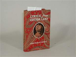 "One Book, ""Lyrics of Cotton Land"","