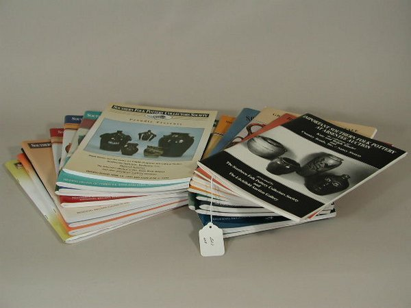 8: Complete Set of Pottery Catalogues,