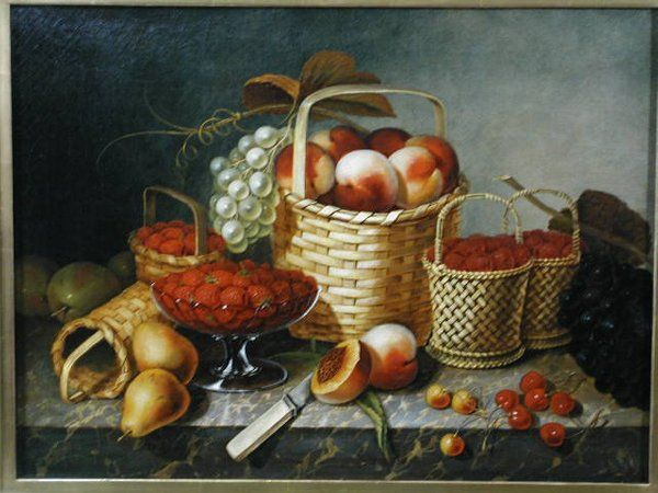 Oil on Canvas, by William H. Hoyt,