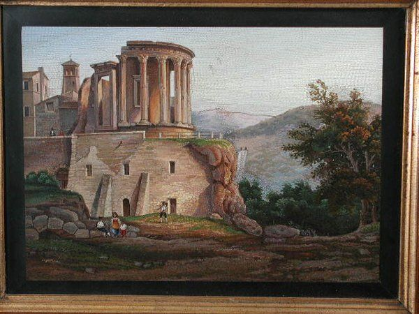 Early Italian Micromosaic Painting,