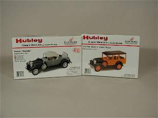 Two Hubely Classic Die Cast Car Kits,