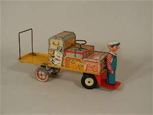 Finnegan the Porter Tin Toy,