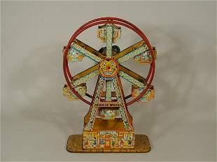 "Ferris Wheel, ""Hercules"", tin chromo lit"