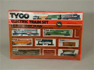 """Tyco Electric Train Set, """"The Midnight S"""