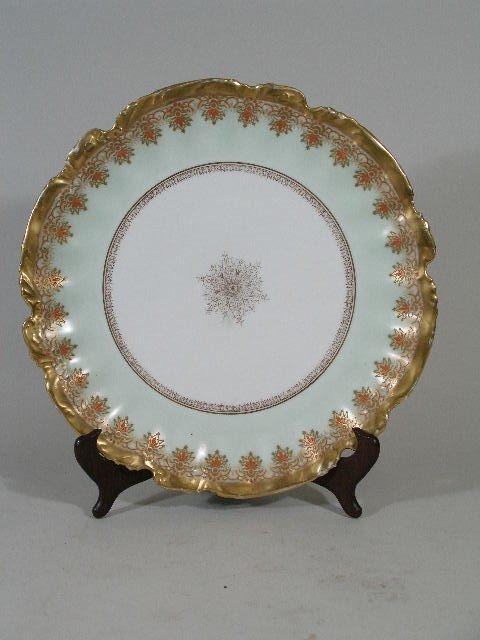 3001: Limoges Serving Plate, c. 1900,