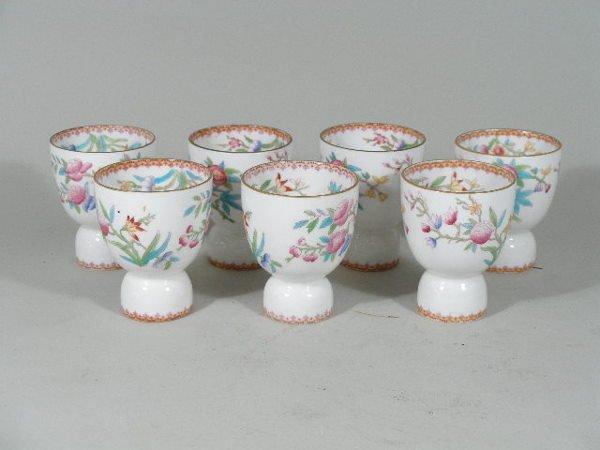 3008: Set of Seven Royal Doulton Egg Cups,