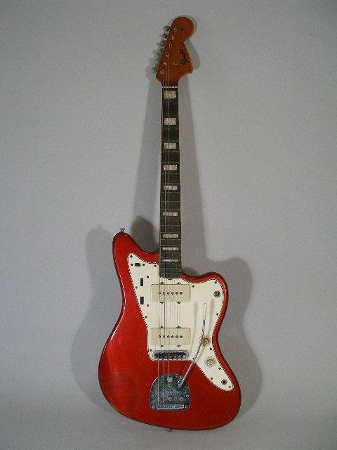 1001: Vintage Fender Jazzmaster Solid Body Electric Gui