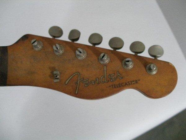1002: Vintage Fender Telecaster Neck, c. 1959-1962, - 3