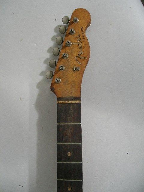 1002: Vintage Fender Telecaster Neck, c. 1959-1962, - 4