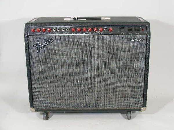 "1005: Fender Tube Amplifier ""The Twin,"" c. 1980s,"