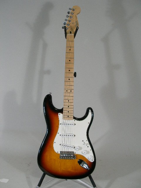 1006: Fender Stratocaster Solid Body Electric Guitar, 1