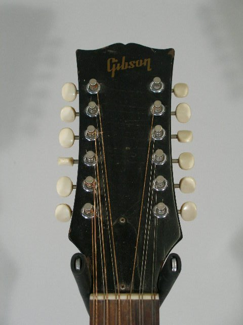 1007: Gibson B-25-12-N, 12 String Flat Top Guitar, c. m - 3