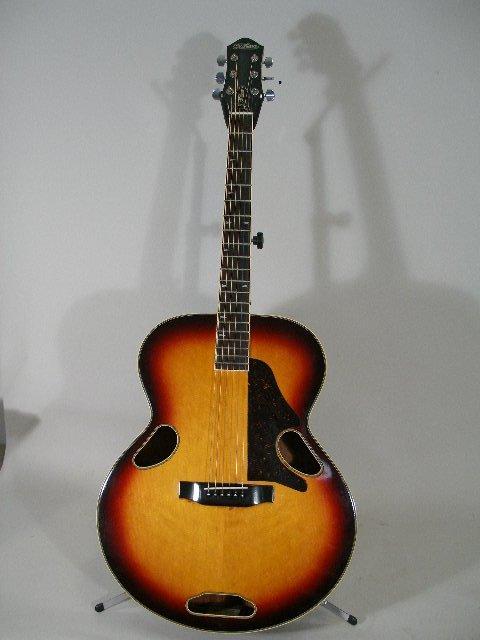 1013: McPherson Acoustic Flat Top Guitar, Model JL-50M,