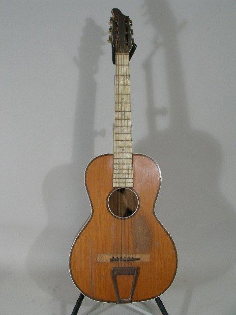 1016: Vintage Washburn Style Parlor Guitar, c. 1930,