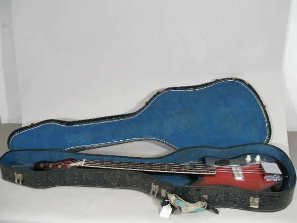 1122: Japanese Bass Guitar, c. mid-1960's, - 7