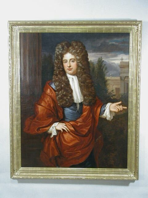 97: Oil on Canvas, Portrait of Charles II, att. to Sir
