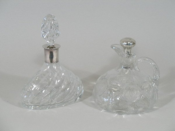5: Two Cut Glass Decanters,