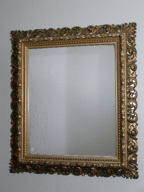 7: Wall Mirror, Late 19th c.,