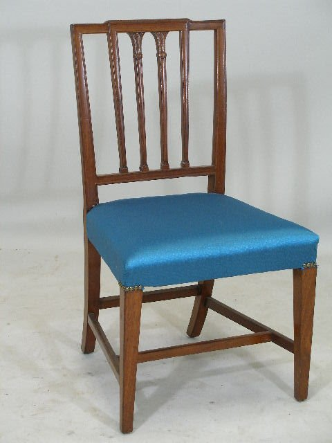 12: Federal Side Chair, Mid-Atlantic, early 19th c.,