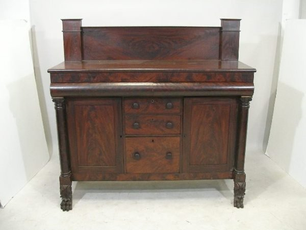 17: Classical New York Sideboard, c. 1820,