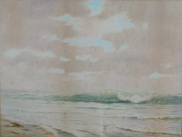Addison Thomas Millar (NY, 1860-1913), Seascape,