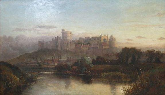 118: John C. Syer (British, 1815-1885), Windsor Castle,