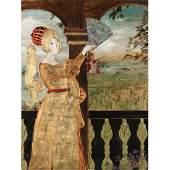 Stephen White NC b 1939 Renaissance Woman on