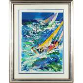 LeRoy Neiman Am 19212012  High Seas Sailing II