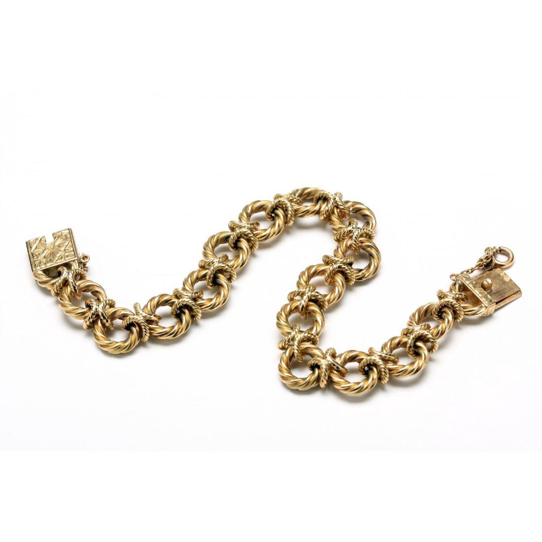 Vintage 18KT Gold Bracelet