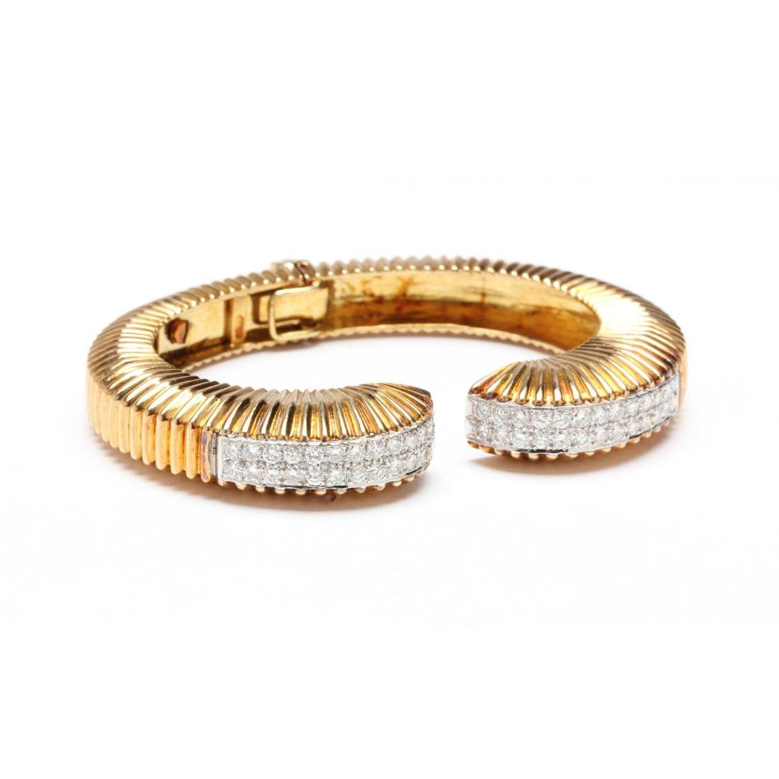 18KT Gold and Diamond Bracelet