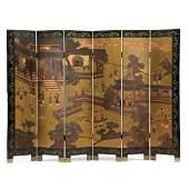 Vintage Chinese Coromandel Screen