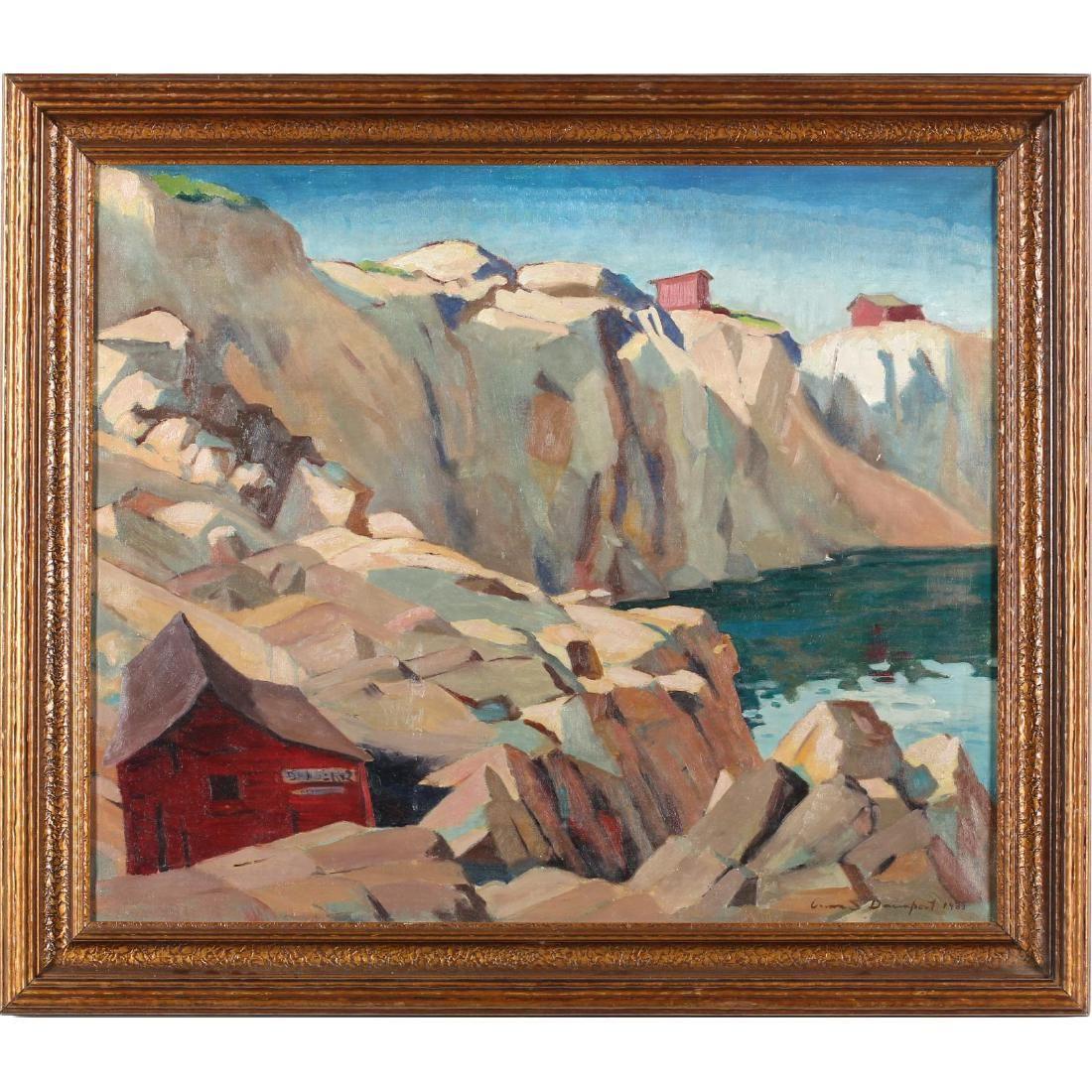 Carson Davenport (VA, 1908-1972), Marble Quarry
