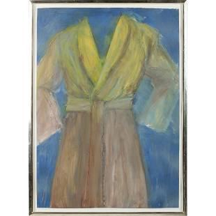 Jim Dine (NY/OH, b. 1935), Untitled (Robe) IV