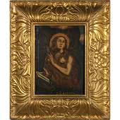 German School Mary Magdalene 18th Century