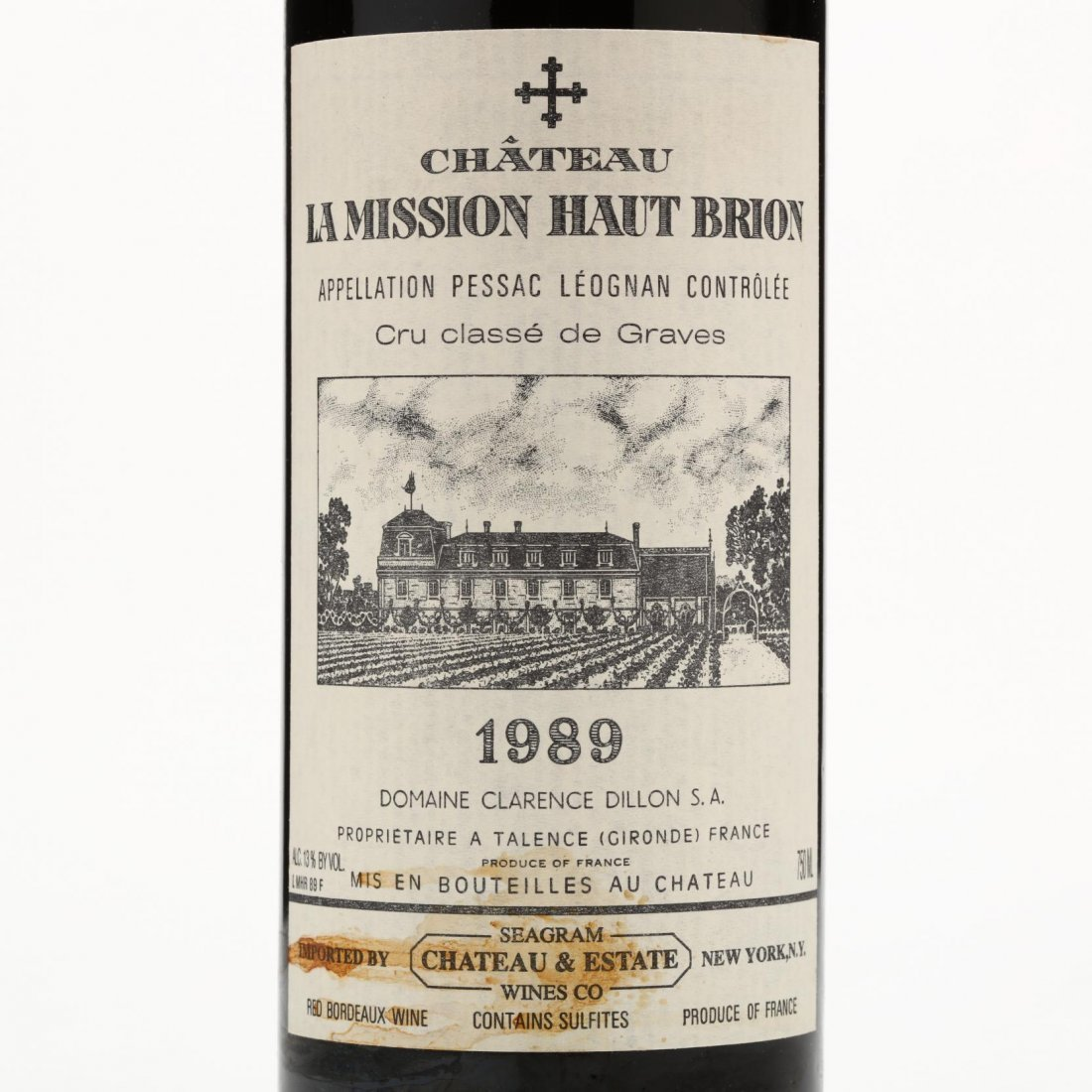 Chateau La Mission Haut Brion - Vintage 1989 - 2