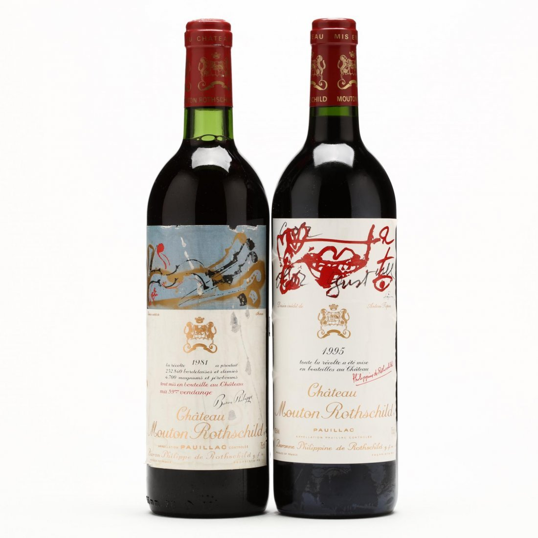 1981 & 1995 Chateau Mouton-Rothschild