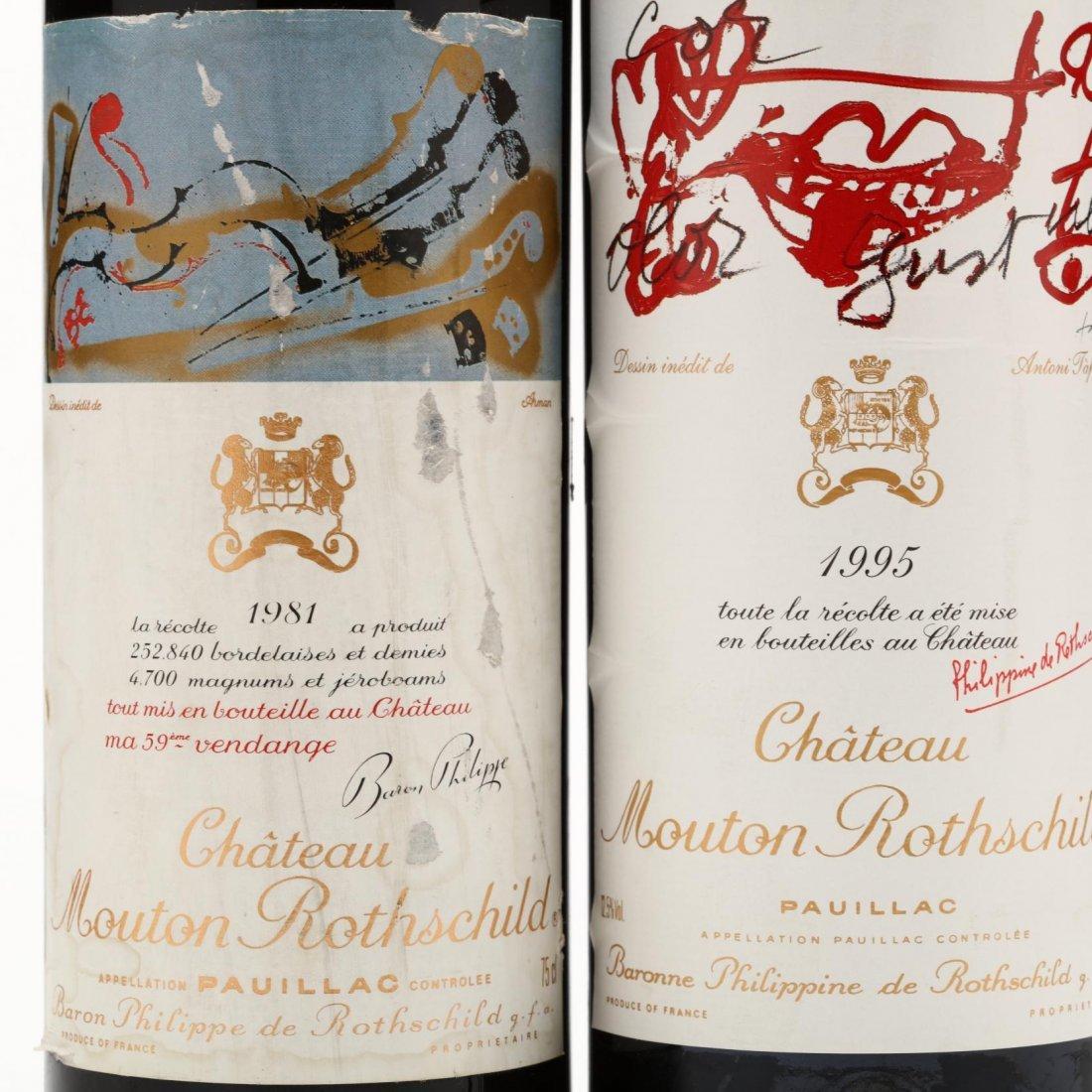 1981 & 1995 Chateau Mouton-Rothschild - 2