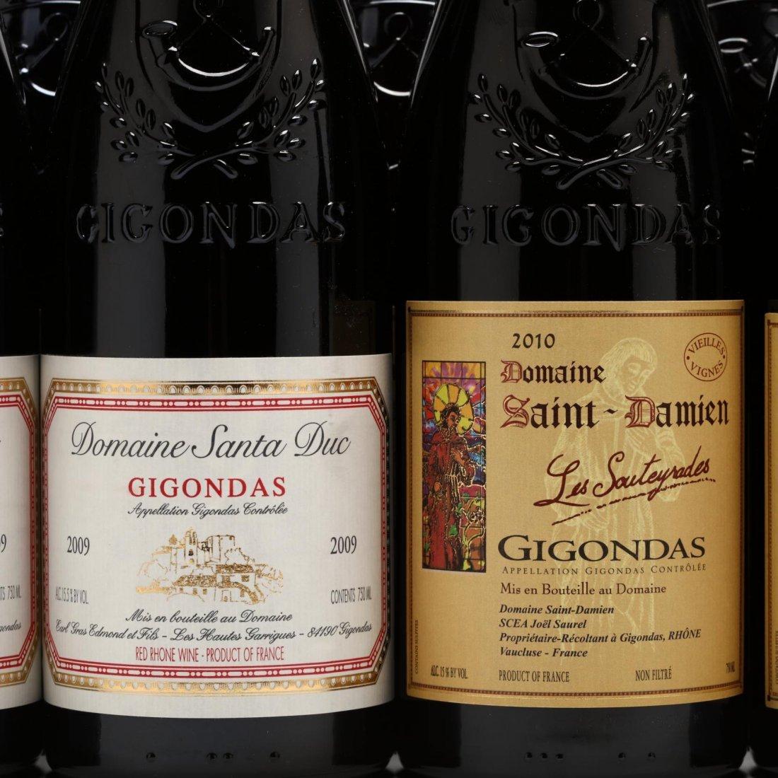 2009, 2010 & 2011 Gigondas - 2