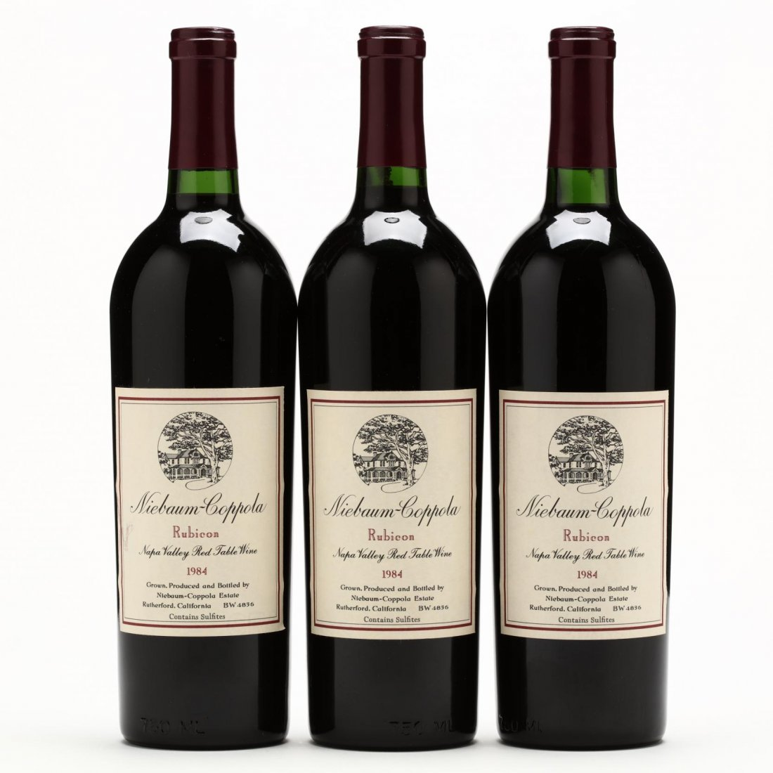 Niebaum-Coppola Winery - Vintage 1984