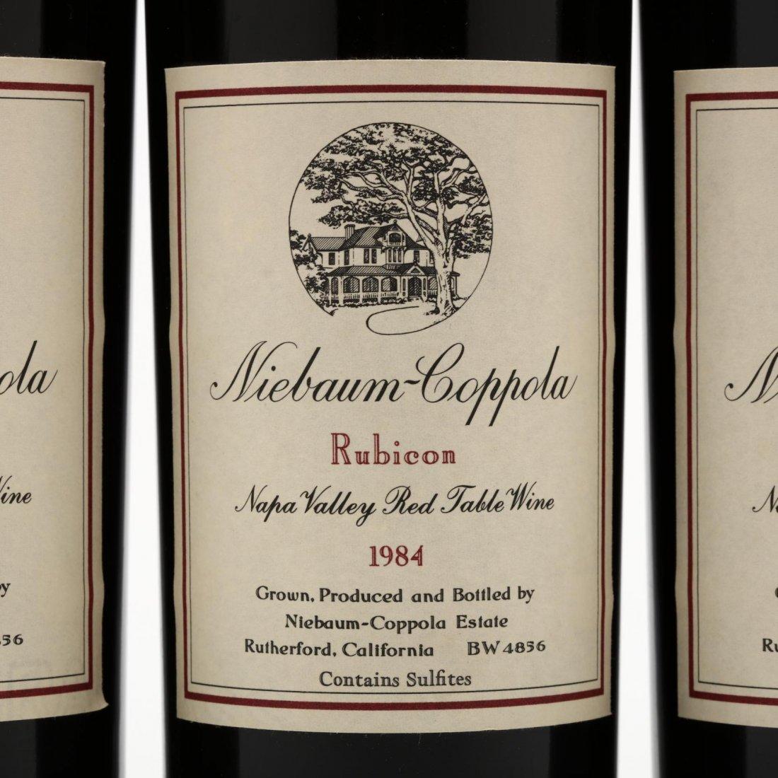 Niebaum-Coppola Winery - Vintage 1984 - 2