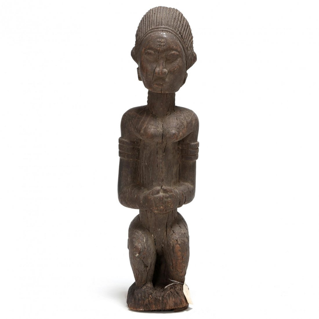 Ivory Coast, Early Baule Figure of a Seated Female