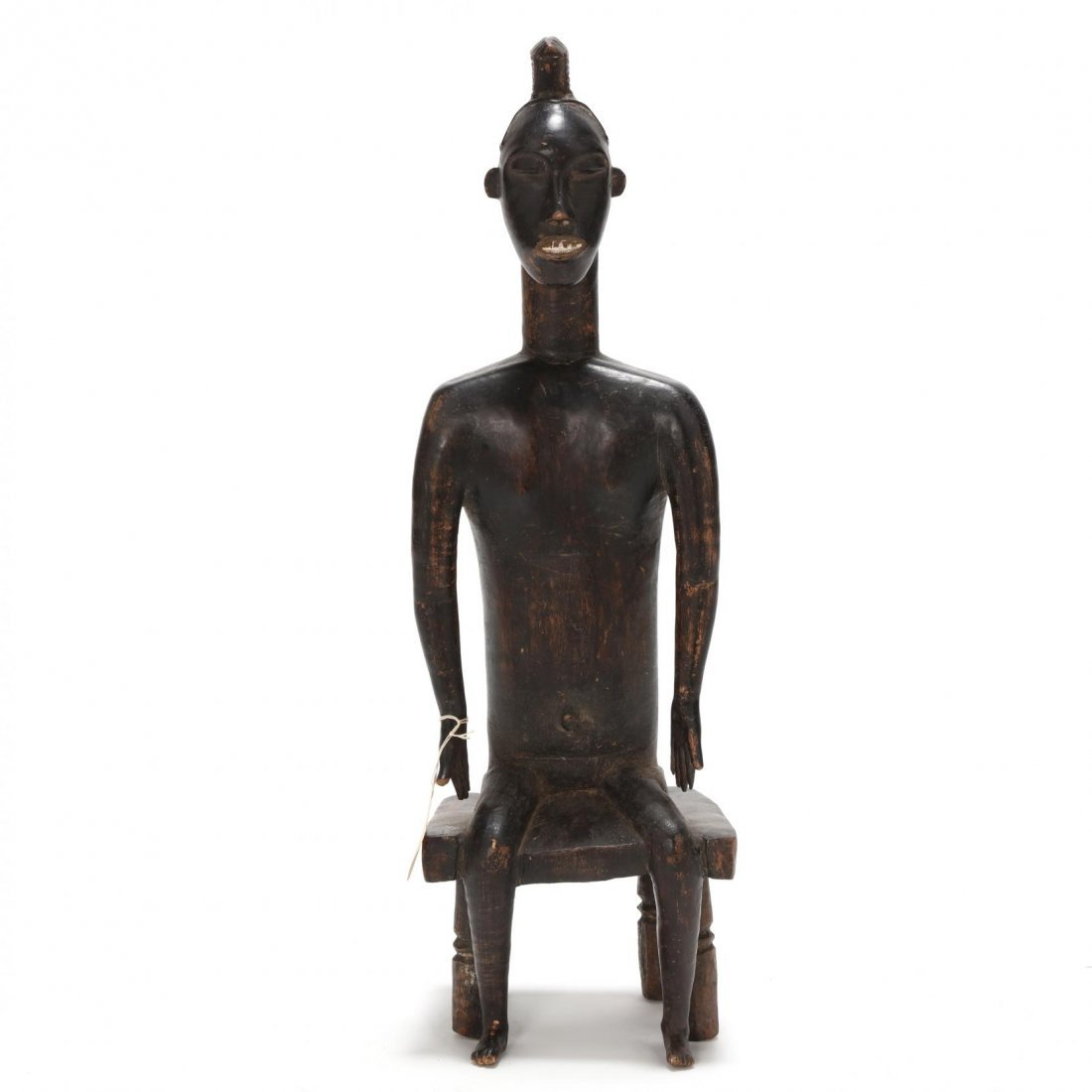 Ivory Coast, Baule Guro Seated Figure