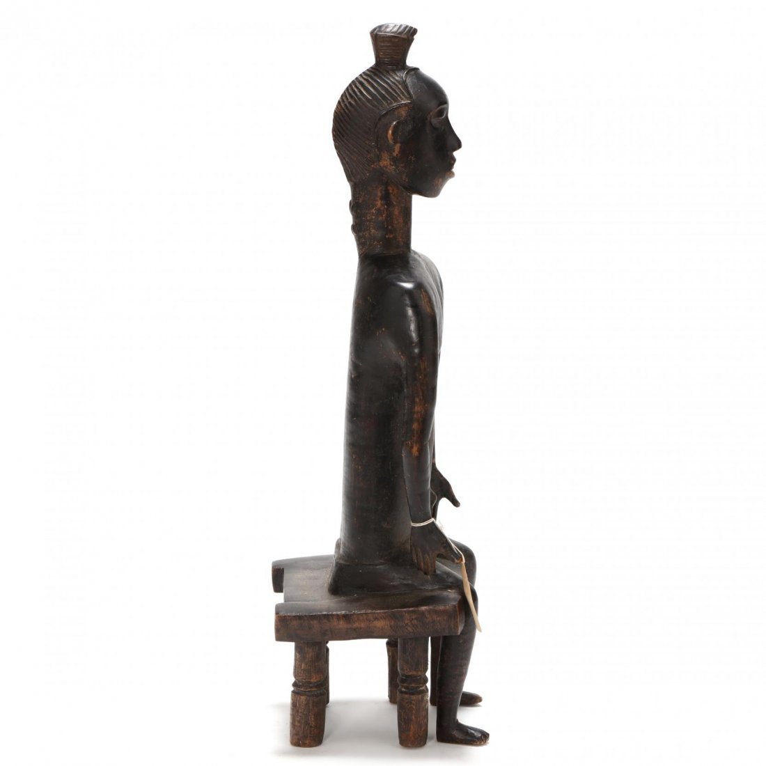 Ivory Coast, Baule Guro Seated Figure - 2