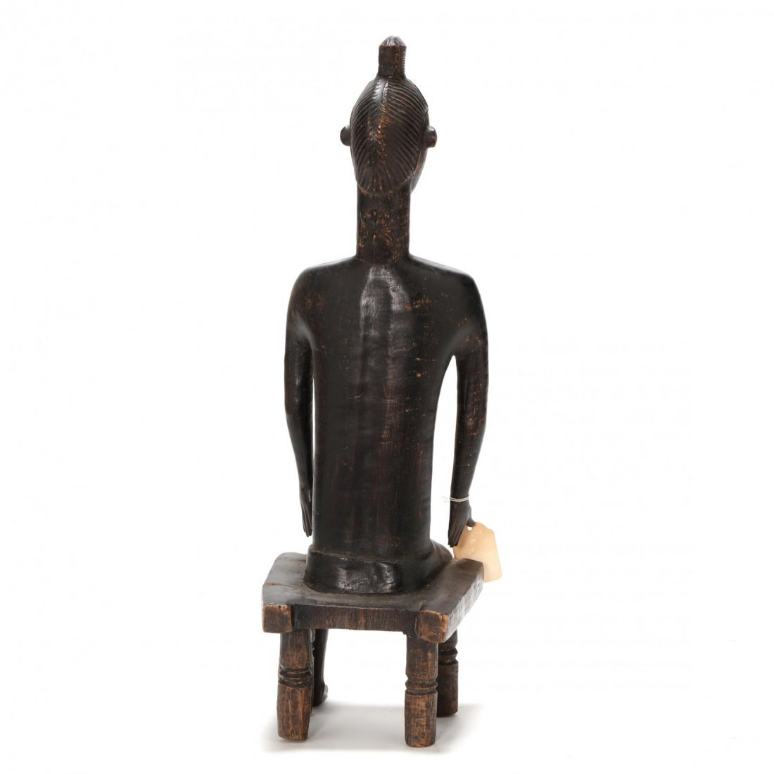 Ivory Coast, Baule Guro Seated Figure - 3