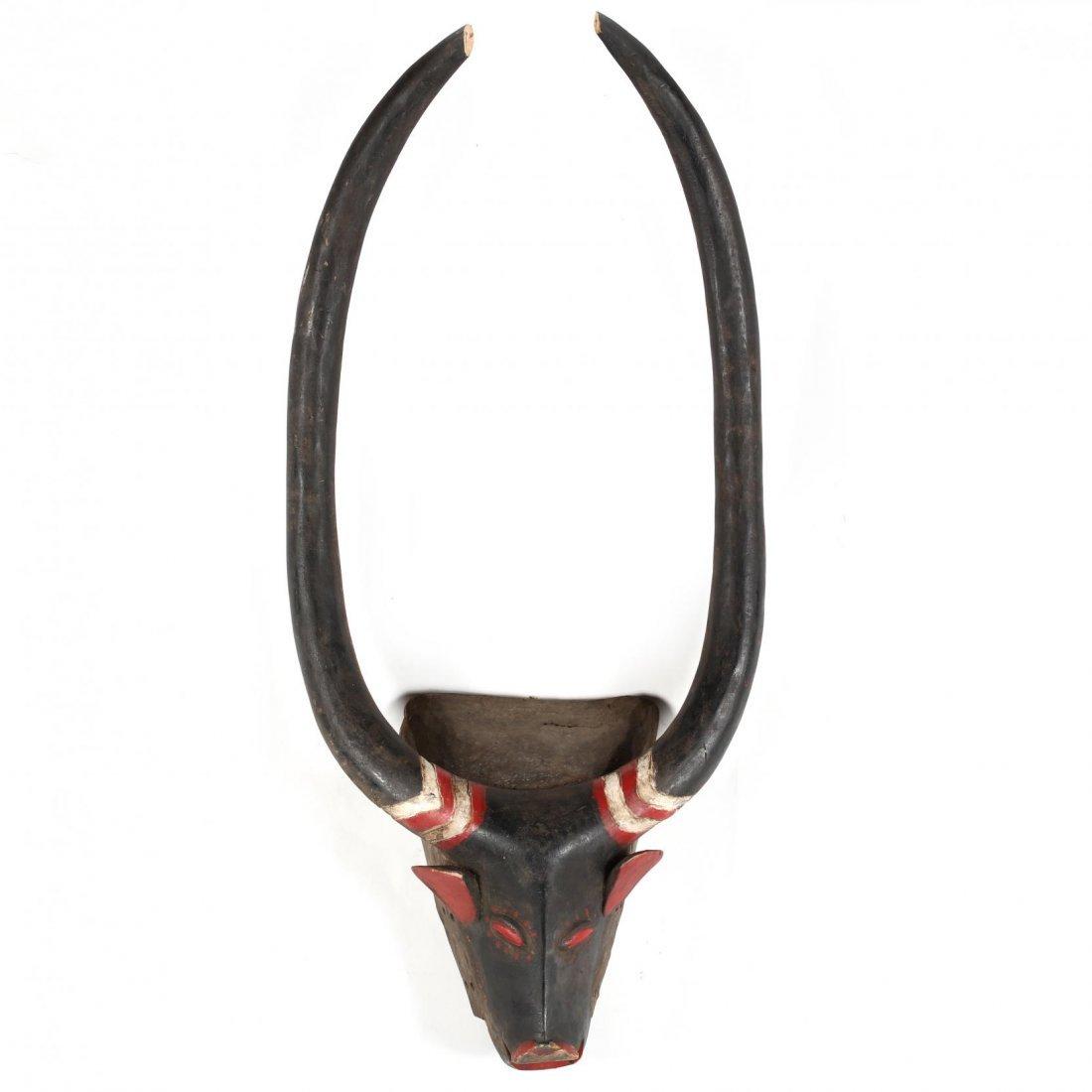 Ivory Coast, Two Baule Guro Animal Masks - 2