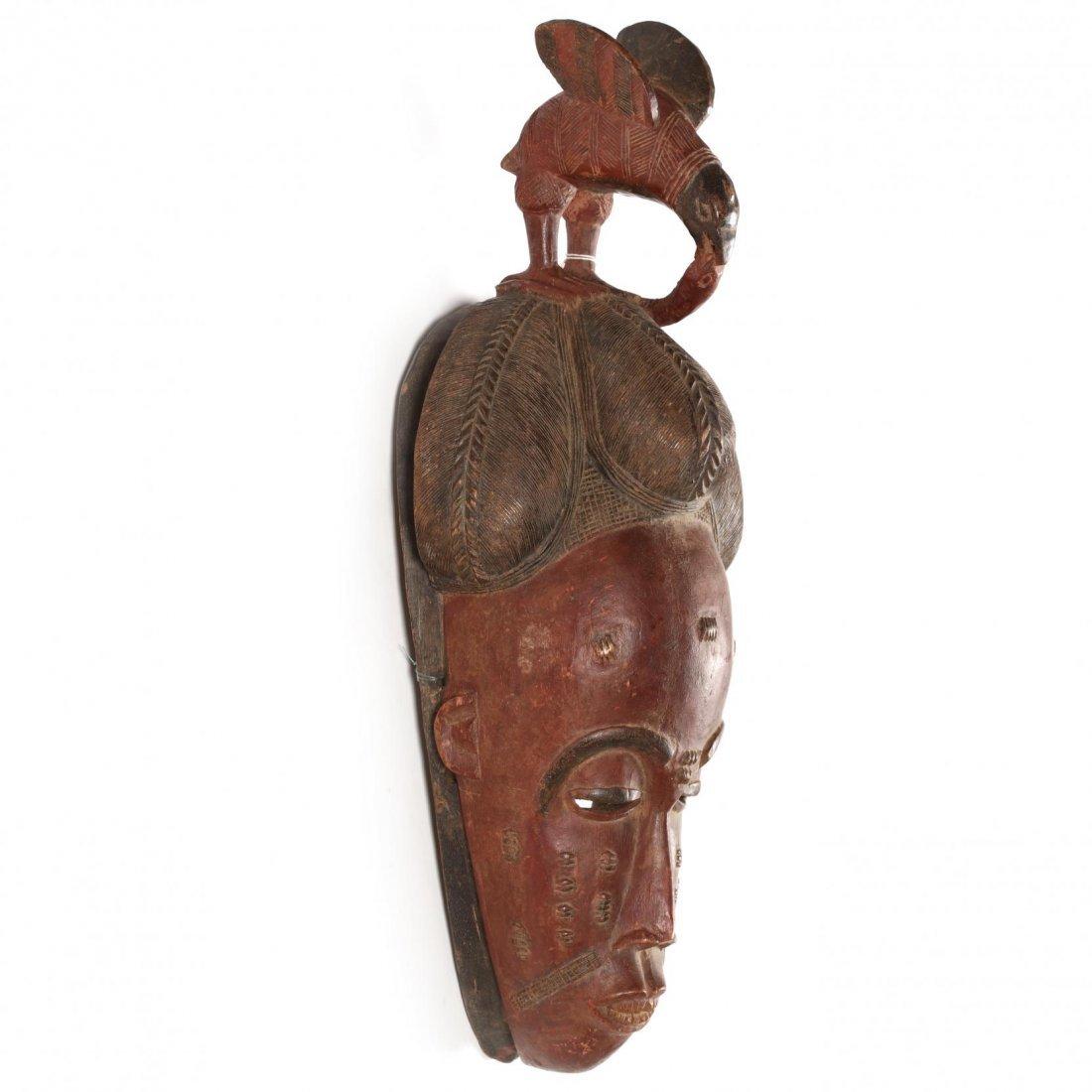 Ivory Coast, Two Baule Guro Masks - 3