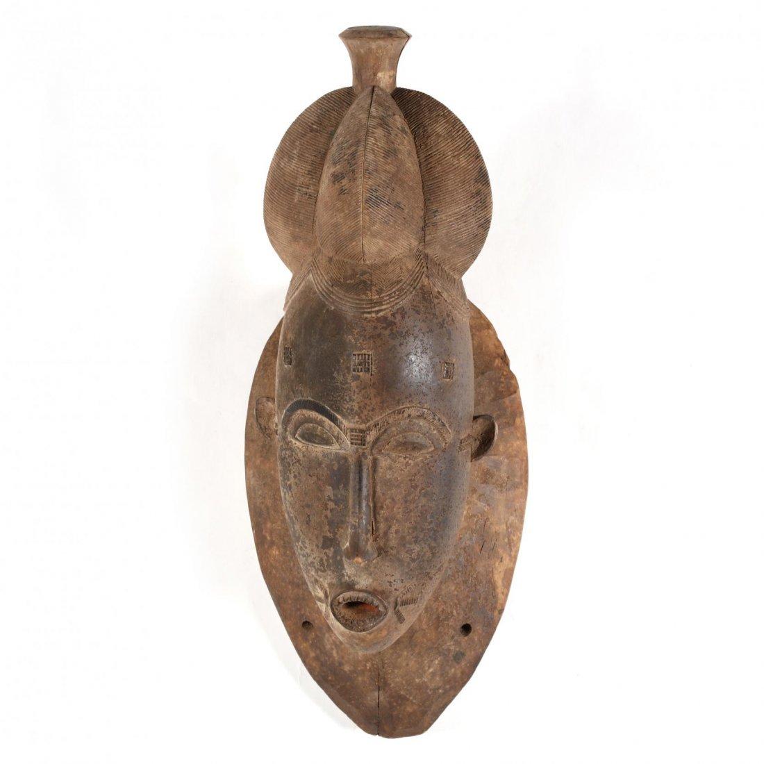 Ivory Coast, Two Baule Guro Masks - 5