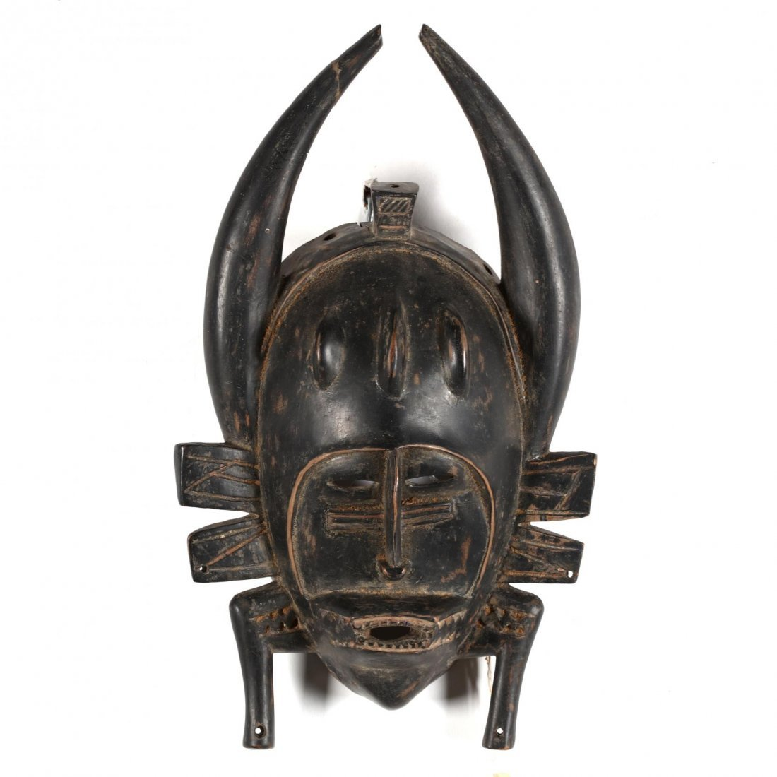 Ivory Coast, Two Senufo Kpelie Masks - 5